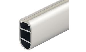 Штанга гардеробная для лент LED 2013/2015 алюминий цвет: серебреный 2500мм