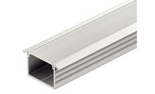 Врезной профиль для лент LED 2013/2015/3013/3015. алюминий цвет: серебреный, матовый 18х8.5х2500мм