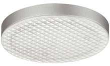 Светильник LED 2001, 12V/1.7W холодный белый свет, цвет: серебристый