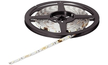 Лента LED 2013 пластиковая белая 12V/25W теплый белый свет 3200К, 5000мм (300)