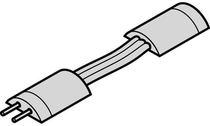 Кабель для угловых соединений ленты LED LOOX BASIC 3528 IP65 50мм п / м