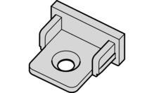 Заглушка пластиковая серебристая (до 833.74.729)