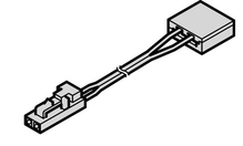 Кабель лента / драйвер LOOX BASIC 5050 IP33 2000мм