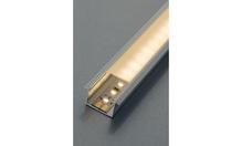 Профиль для лент LED 2013/2015/3013/3015 нижнее крепление алюминий цвет: серебристый 18х8.5х2500мм матовый