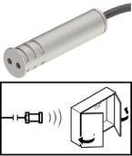 Сенсорный выключатель для дверей пластиковый серебряный 60мм D13мм