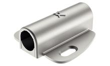 Крепление для выключателей D16мм пластик серебристый 45х48мм