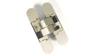 Петля скрытая 3D цвет: F2 никелированная матовая ? 180 ° вес двери 40/52кг