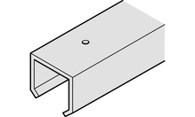 Шина ходовая SILENT 40 / A алюминий без покрытия 2.0м