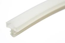 Уплотнитель для межкомнатных дверей PVC, прозрачный 10мм