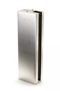Петля нижняя для маятниковых дверей, нержавеющая сталь, 162х51х31мм