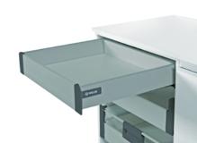Comfort Box для высоты ящика 86 мм Push to open серый