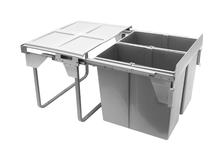 Ведро для мусора двойное JC609M-2 60 2x34л