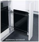 Висувна система з бляшаним дном 150 мм для листів